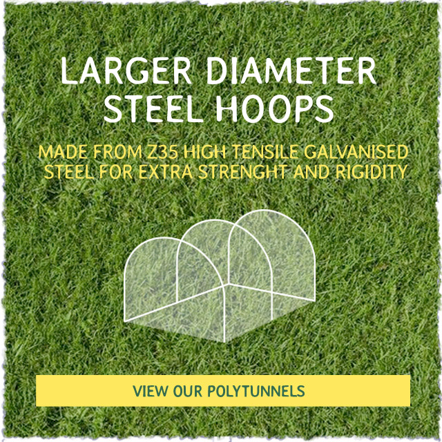 Larger Diameter Steel Hoops
