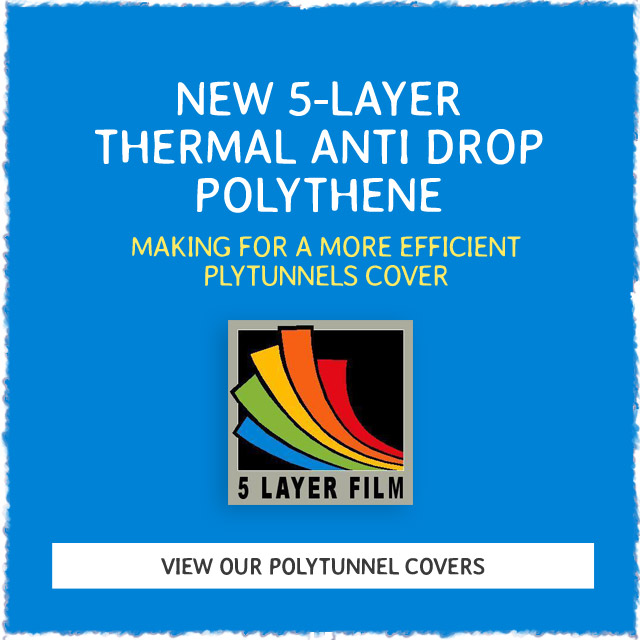 New 5 Layer Polythermal Anti Drip Polythene