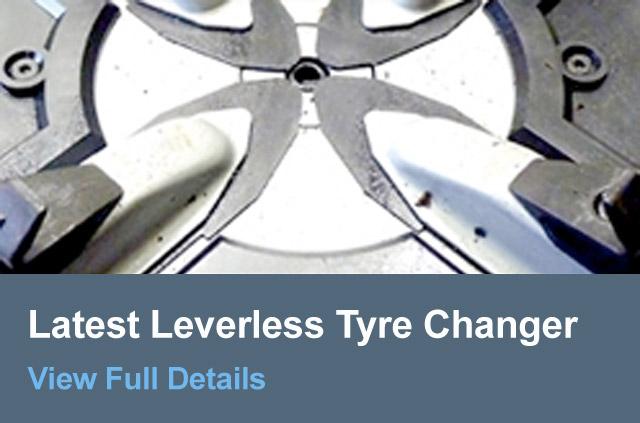 Latest Leverless Tyre Changer