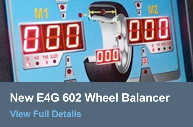 New E4G 602 Wheel Balancer